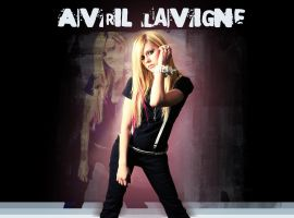 wallpaper avril lavigne by andzia89