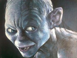 Gollum Scheming by Catherine1992