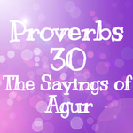 Proverbs 30 The Sayings of Agur by 1234RoseSmith