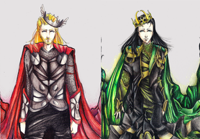 :Thorki: ...Prince of Asgard by SeikoVanM