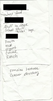 Discarded Shopping List 003 by SurnThing