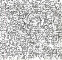 the simpsons all on one by danotronxx