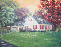The Sunny Home by HelenLight