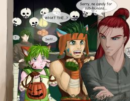 FE9 - Halloween with Shinon by supertimer
