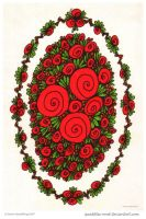 Roses for Mum by Quaddles-Roost