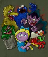 Street Monsters by DarkSemanyk