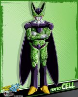 DBkai card #8 perfect cell by Bejitsu