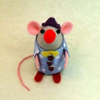 Clown Mouse by The-House-of-Mouse