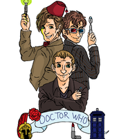 The Doctors by radioactivemonsters