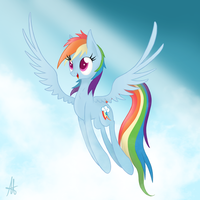 [MLP] Rainbow Dash by Ardas91