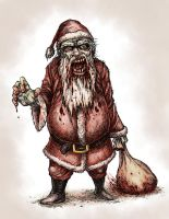 Zombie Claus by BNG
