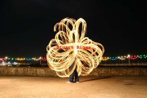 fire poi, antispin flower by firestu