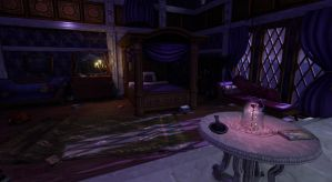 Beast's Room (Beauty and the Beast) by SilverSkittle