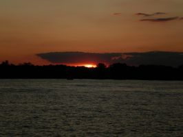 Sunset Over Belle Isle by Pentacle5