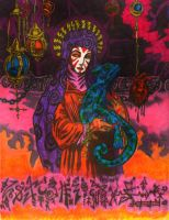 Sister Mary Chamelea In Color by ragzdandelion