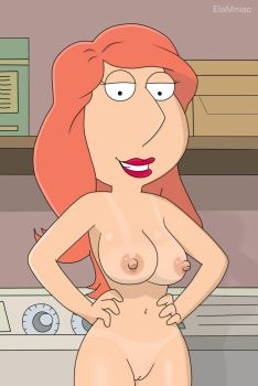Family Guy - Lois Griffin nude laundry by elamniac