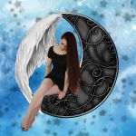 Moon Angel by martine8719