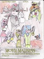 Sonic Movie Madness poster 3 by Luke-the-F0x