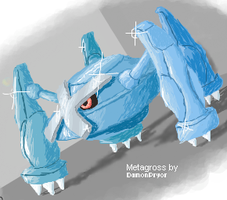 Epic Metagross by Rorousha