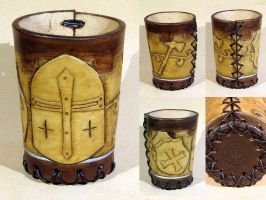 Knight Empire dice cup by LeszekGyver