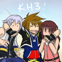 Kingdom Hearts 3! by cjwolf207