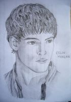 Merlin - Colin Morgan by blackbirdrose