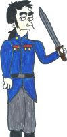 Javert-Simpsons style by Frosty2011