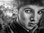 Merlin Colin Morgan by Mariannaeva