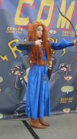 Merida Cosplay at Comic Con by AreLei