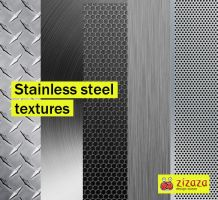Stainless steel textures by DarkStaLkeRR