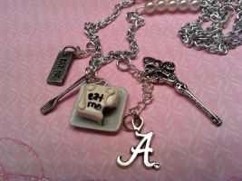 Eat Me Necklace Alice in Wonde by KatGore