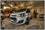 My Van in Workshop by nicholls34