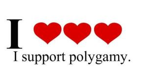I support polygamous marriage. by BoiChick