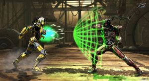 A new MK Cyrax by TheInsaneDarkOne