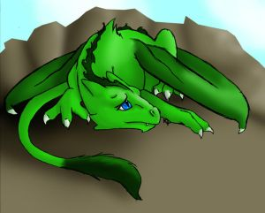 AVATAR POUR TOUS Baby_Green_Dragon_by_Kumlay