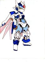 old concept megaman X 26 by MugenAtonman