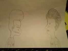 Beavis and Butthead huhuh uhhuh yeaaah by SuperFIFIBros