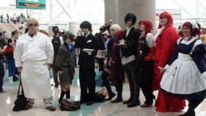 Cosplays from Black Butler at AX 2013 by trivto