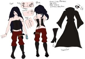 Lilith Character Sheet by bakabunny
