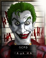 The Joker's Mugshot by JackSkelling10