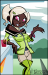 Own Creation Hermia Artist comment update!!! by toongrowner