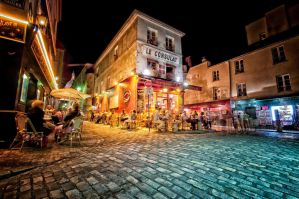 Montmatre Summer Nights by IainScarborough