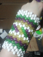 Kandi bracer by anne-t-cats