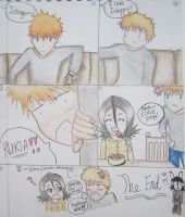 Rukia Loves Ichigo! (Coloured Version) by MidnightShadowgirl25
