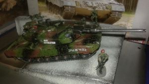 Leopard 2A6 MBT Revolution 1/72 Scale Model by WULF-1045
