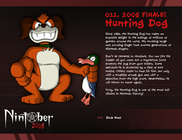 Nintober 011. Hunting Dog by fryguy64