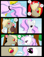 Discord X Celestia comic - Page 14 by VanillaMelodyPegasus