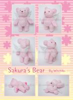 Sakura's Bear::::::::: by Witchiko