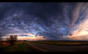 Clouds over Sibiu by andreimogan