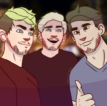 Holy Trinity ft. heart eyes Jack by moonlitboy